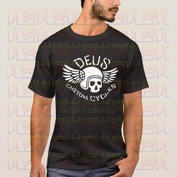 Deus Ex Machina Custom Cycles T Shirt 2020 New Summer Mens Short Sleeved Popular Tee Tops Amazing Unisex