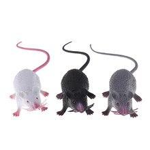 Ratón realista falso de 22cm, juguete de decoración para fiesta de Halloween, modelo de accesorio, regalo de 2020 años