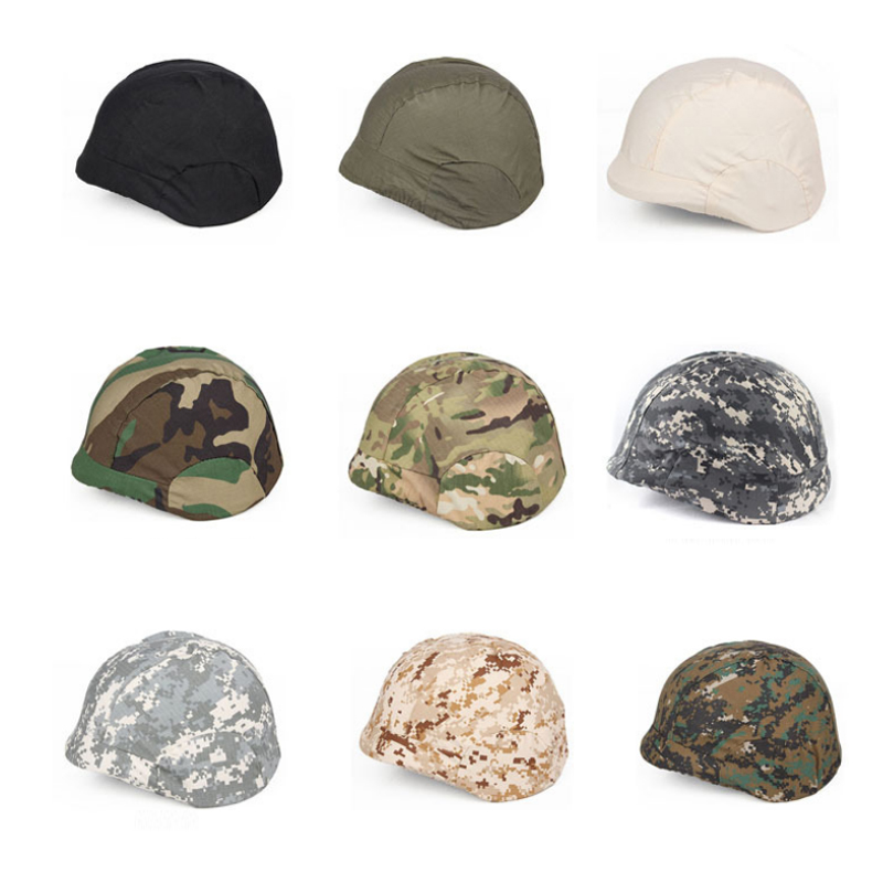 M88 High-Strength Military Helmet Cover Camouflage Paintball Tactical Airsoft War Game Multicam Hunting Cap Helmet Accessories