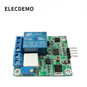 Image 2 - WCS2702 high precision AC and DC current detection sensor module 2A current limiting protection relay serial port