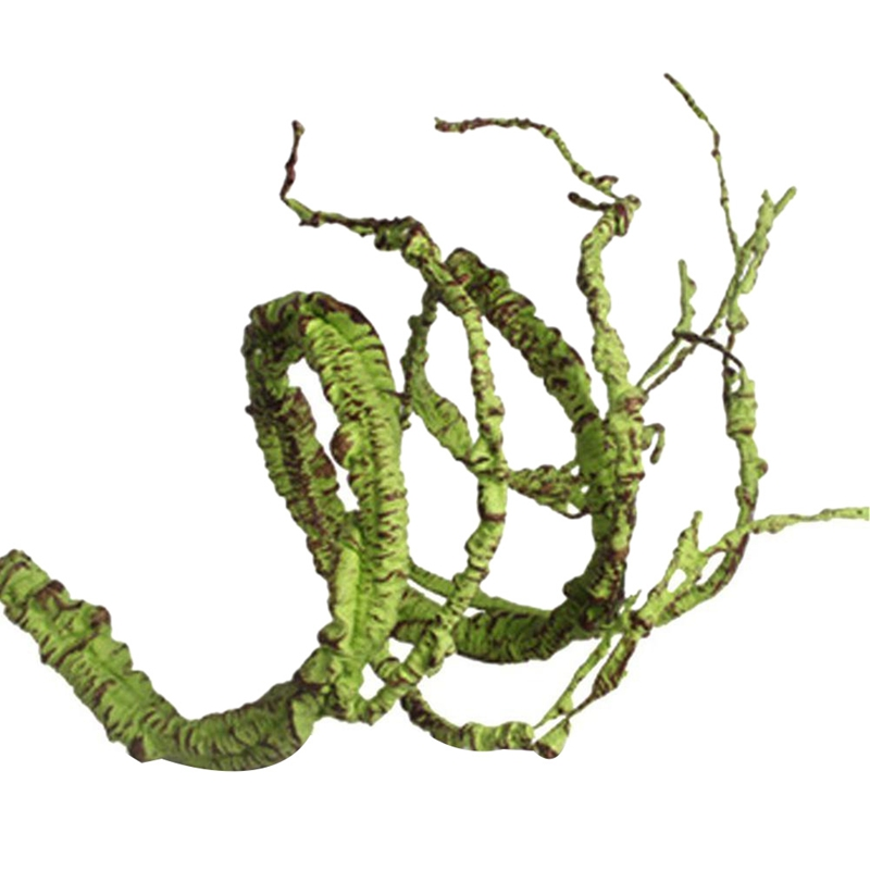 Quality Flexible Bendable Artificial Tree Vine Jungle Vines Pet Habitat Decor For Lizard Frogs Snakes And More Reptiles