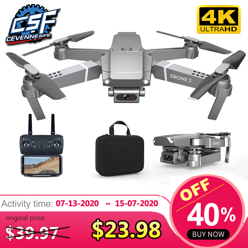 2020 NEW E68 Drone HD wide angle 4K WIFI 1080P FPV Drones video live Recording Quadcopter Height To maintain Drone Camera Toys(China)