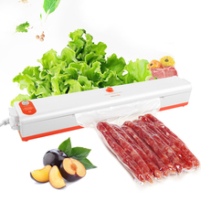 Food Vacuum Sealer Packaging Machine 220v Home Food Sealing Vaccum Packer can be use System Meal Fresh Packing for food saver cheap WITUSE CN(Origin) EQG491 Vacuum Sealer Machine High quality ABS 220V 60HZ 100W 60dB Max 430mmHg 3-8 bags minute Semi-Automatic