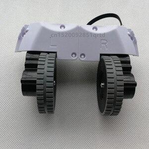 Image 5 - الأصلي اليسار اليمين عجلة مع محرك ل جهاز آلي لتنظيف الأتربة ilife A6 A8 ilife X620 X623 جهاز آلي لتنظيف الأتربة أجزاء عجلة المحرك