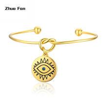 Оригинальный дизайн богемный браслет для женщин из нержавеющей