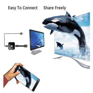 Image 2 - 2019 1080p جهاز استقبال للتليفزيون X7 أندرويد واي فاي محول HDMI لجوجل كروم كاست كروم الفقرة لميراسكرين يلقي على التلفزيون نيتفلكس يوتيوب ويريل