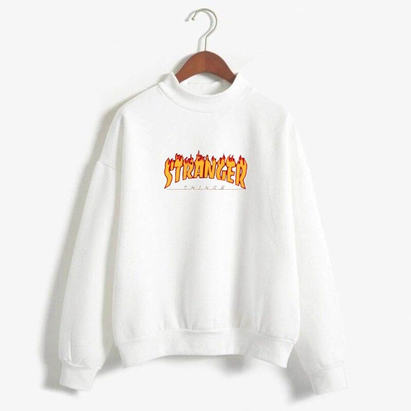Stranger Things Official Television Series Men's Solid Logo Sweatshirt  Unisex STRANGER THINGS Hoodie - Stranger Things 26
