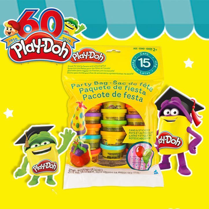 Original Hasbro Play Doh Toys Slime Rainbow Color Plasticine Toy For Children Baby Birthday Gift DIY Plasticine Toys