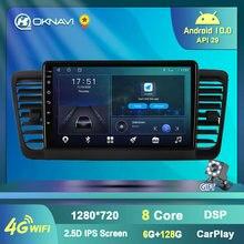 Автомобильный мультимедийный плеер oknavi android 10 для subaru