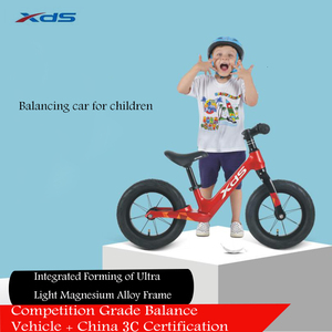 Image 3 - XDS Balance Baby Bike Kids Bicycle Ride on Toys No Pedal 2 7 Year Old Beginners Ski glissade run slide glide Car Riding