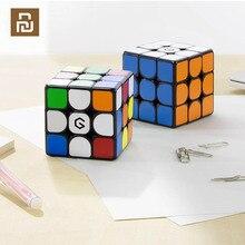 Youpin giiker cubo de força magnética m3 aprendizagem com aplicativo quebra cabeça brinquedo de descompressão cubo portátil profissional