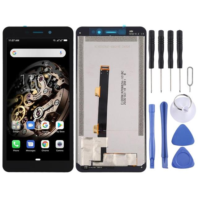 LCD Screen and Digitizer Full Assembly for Ulefone Armor X5 Touch Screen Replacement Phone Repairment