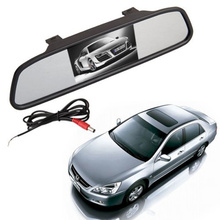 Monitor Auto-Car-Vehicle Rearview-Mirror-Monitor Lcd-Display Video-Input Vcr/car-Reverse-Camer