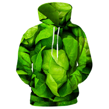 Cloudstyle Mens 3d Hoodies Vegetable Cabbages Men Sweatshirts Casual Zipper Green Vegetables Plus Size