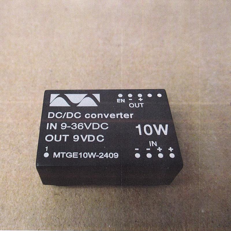 DC To DC  Converter 9-36V In To 9V Or 12v Out MTGE10W-2409  Dcdc Power Module Converters Quality Goods