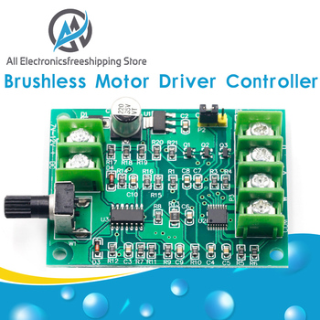 5V 12V Brushless DC Motor Driver Controller Board with Reverse Voltage Over Current Protection for Hard Drive 3/4 Wire - discount item  15% OFF Electrical Equipment & Supplies