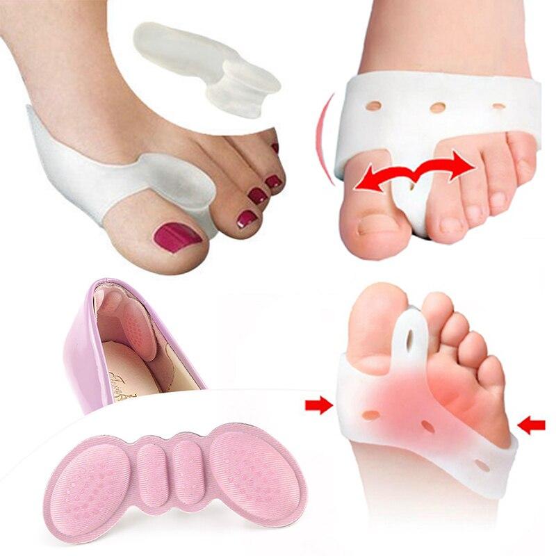 1/2/3Pair Bunion Corrector For Pedicure Hallux Valgus Feet Care Toe Separator Hallux Valgus Thumb Straightener Foot Care Tools