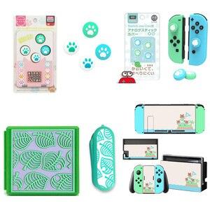 Животное пересечение палец ручка лапа крышка Крышка для Nintendo переключатель NS Lite наклейка с защитой экрана кожа игра карты коробка чехол
