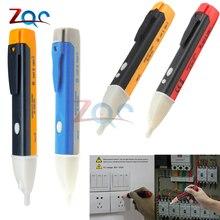 AC 110 В 220 В вольтметр напряжение зонд вольт метр электрический индикатор мощность детектор тестер Бесконтактный Разъем настенный светодиодный 90-1000 в