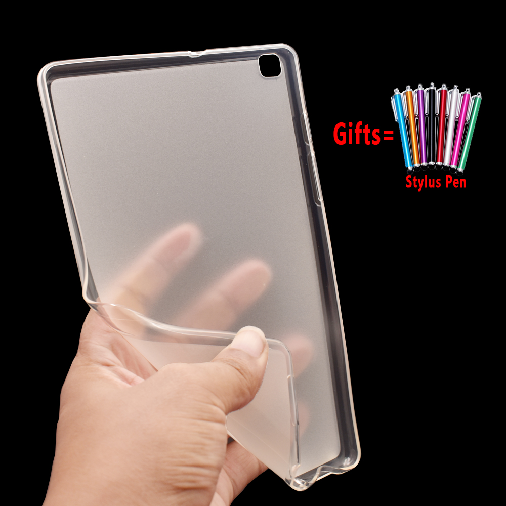For Samsung Galaxy Tab A 8.0 2019 Case Cover T290 T295 SM-T290 SM-T295 Tablet Soft Silicon Case Coque Funda + Stylus Pen