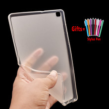 For Samsung Galaxy Tab A 8.0 2019 Case Cover T290 T295 SM-T290 SM-T295 Tablet Soft Silicon Case Coque Funda + Stylus Pen(China)