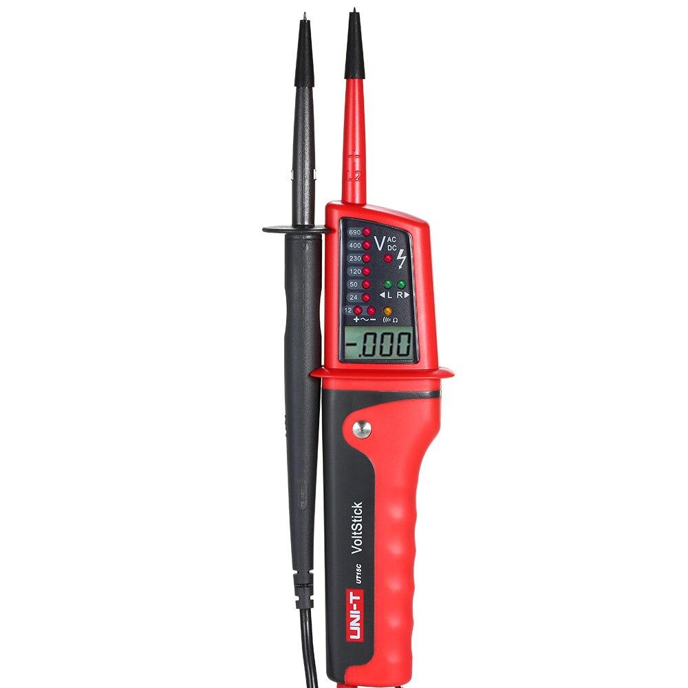 Мини UT15C водонепроницаемый тестер напряжения индукционного типа Карандаш трехфазный Электрический измерительный карандаш переменного то...