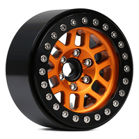 INJORA 4PCS Metal 2.0 Beadlock Rim Wheel Hub Fit 1.9 Tires for 1/10 RC Crawler Axial SCX10 90046 SCX10 III AXI03007 TRAXXAS TRX4 5