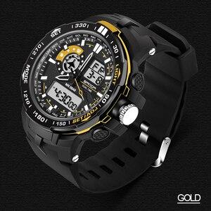 Image 4 - 2020 Nieuwe Militaire Heren Digitale Horloge Waterdicht Sport Horloge Mannen Multifunctionele S Shock Klok Mannelijke