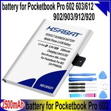 Hsabat CS-PTK602SL 2500 mah bateria para pocketbook pro 602/603/612/902/903/912/920 baterias(China)
