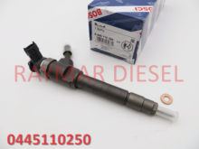 Genuine common rail fuel injector 0445110250 for BT-50 engine WLAA-13-H50, WLAA13H50