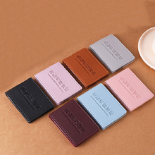 Driver License Holder Cover for Car Driving Documents ID Pass Folder Wallet Business Certificate solid color Bag