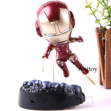 Avengers Action FIGURE Infinity War Iron Man Mark 43 Heros Edition คอลเลกชันรุ่นของ(China)