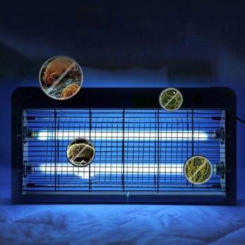 20W Hanging Household Ultraviolet Germicidal Lamp Kindergarten UV Disinfection Light Sterilizer Remove Acarid Mold Formaldehyde
