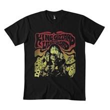 Camiseta king giz para homem para mulher dmn68 preto