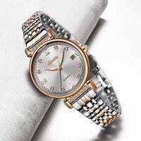 LIGE Marke SUNKTA Neue Frauen Uhren Business Quarzuhr Damen Top Marke Luxus Weibliche Armbanduhren Mädchen Uhr Relogio Feminin