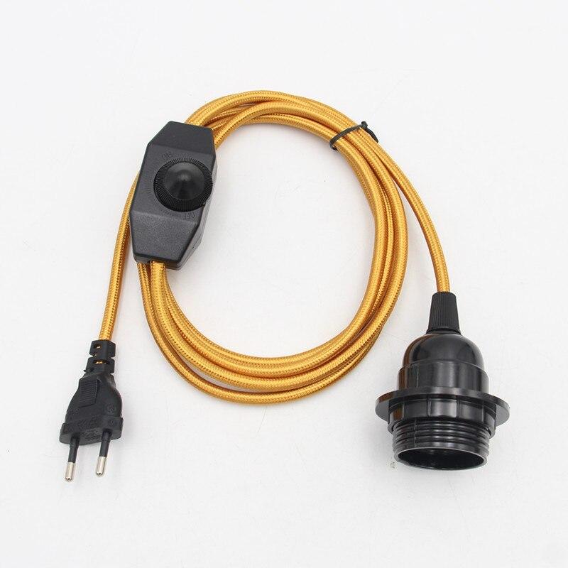 com interruptor dimmer e27 suporte da lampada 05