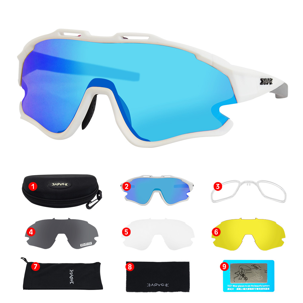 Cycling Sunglasses Professional Polarized Cycling Glasses MTB Road Bike Sport Sunglasses Bike Eyewear UV400 Bicycle Goggles 24