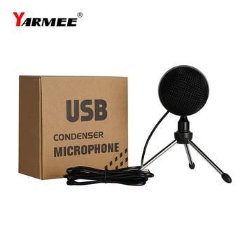 Professional micrófono profesional para pc USB microphone condenser studio microphone for PC Youtube singing YR08 original samson c01u pro usb studio condenser microphone for youtube videos