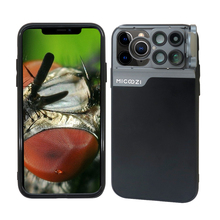 New For iPhone 11 Pro Max Camera Lens Kit Fisheye Wide Angle Macro Telescope CPL Lens Case Cover For iPhone X XR XS Max 7 8 Plus