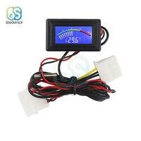 Lcd Pointer Digitale Thermometer Auto Water Temperatuur Meter Gauge C/F Ntc Sensor Voor Computer Case Airconditioning Ketels