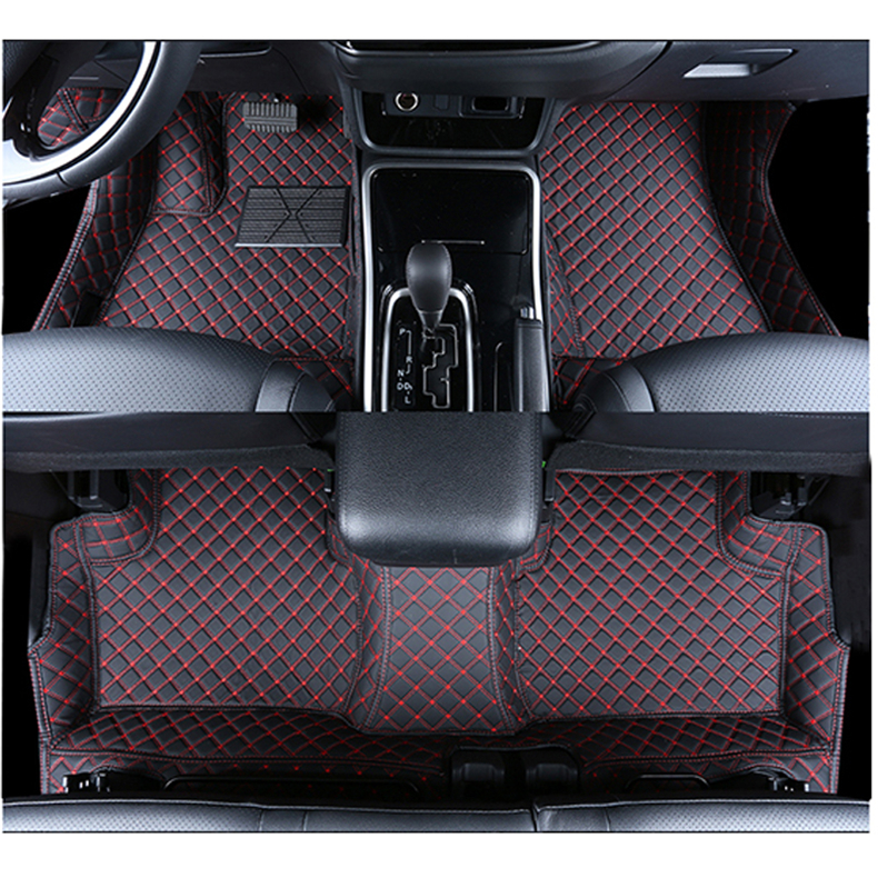All Weather Floor Liners Front and Rear Row Set Black Megiteller Car Floor Mats Custom Fit for Mitsubishi Outlander 2011 2012 2013 2014 2015 2016 2017 2018 2019 Odorless Washable Heavy Duty Rubber