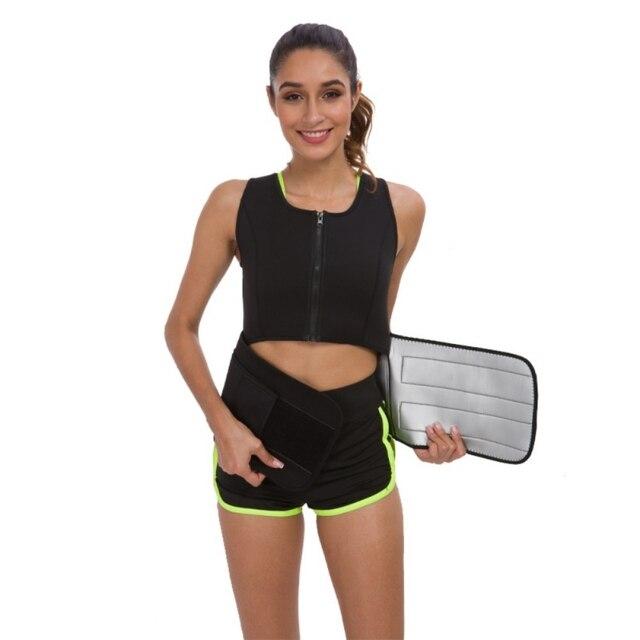 Maternity Clothing Postpartum Slimming Corset Neoprene Sauna Sweat Vests Hot Super Sweat Belly Band Belt Waist Trainer Shaper 2