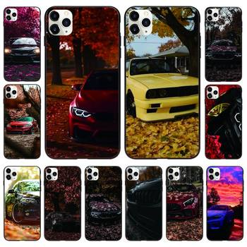 Red And Blue Bmw Car Phone Case Black For IphoneX XS 11 12 11/12Pro Max 5 5s SE 6 6s 7 8 Plus SE2020 Cases image