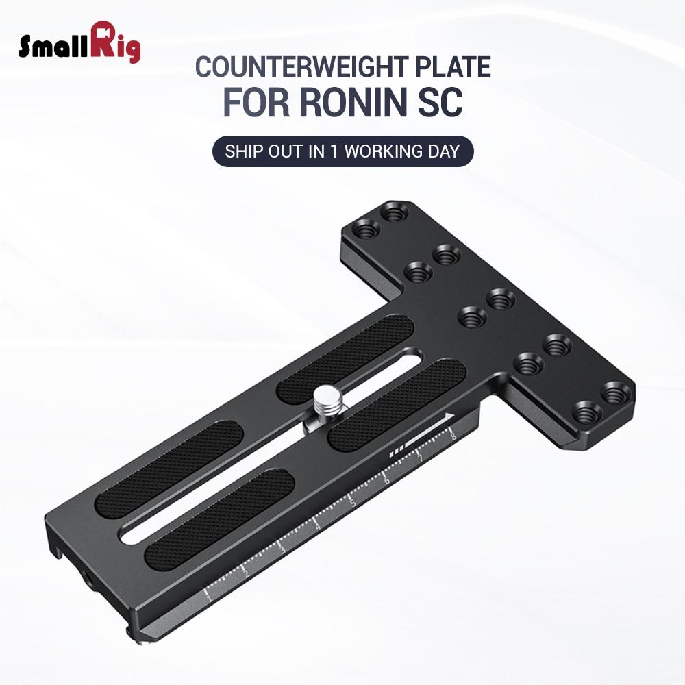 SmallRig DSLR Camera Gimbal Ronin SC Plate Counterweight Mounting Plate for DJI Ronin-SC Stabilizer fr Video Balance Adjust 2420