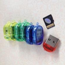 Высокоскоростной мини TF Micro кард-ридер USB 2,0 Micro T-Flash TF кард-ридер 64 Гб памяти Высокоскоростная передача