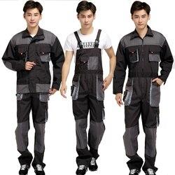 Mannen Bib Werken Overalls Mannelijke Werkkleding Uniformen Mode Tooling Overalls Werknemer Reparateur Strap Jumpsuits
