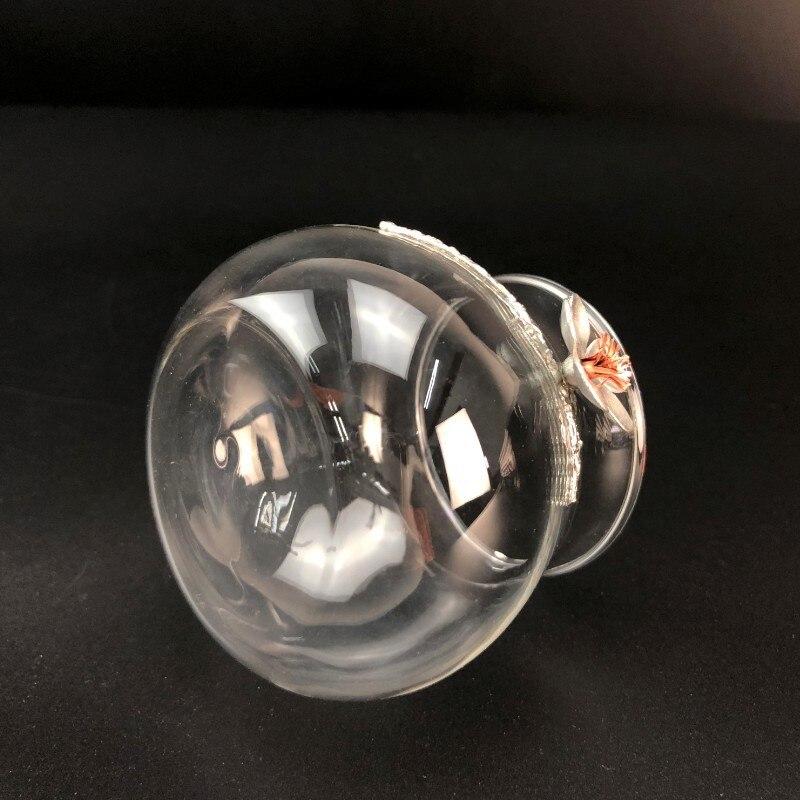 Filtro de chá de vidro resistente ao
