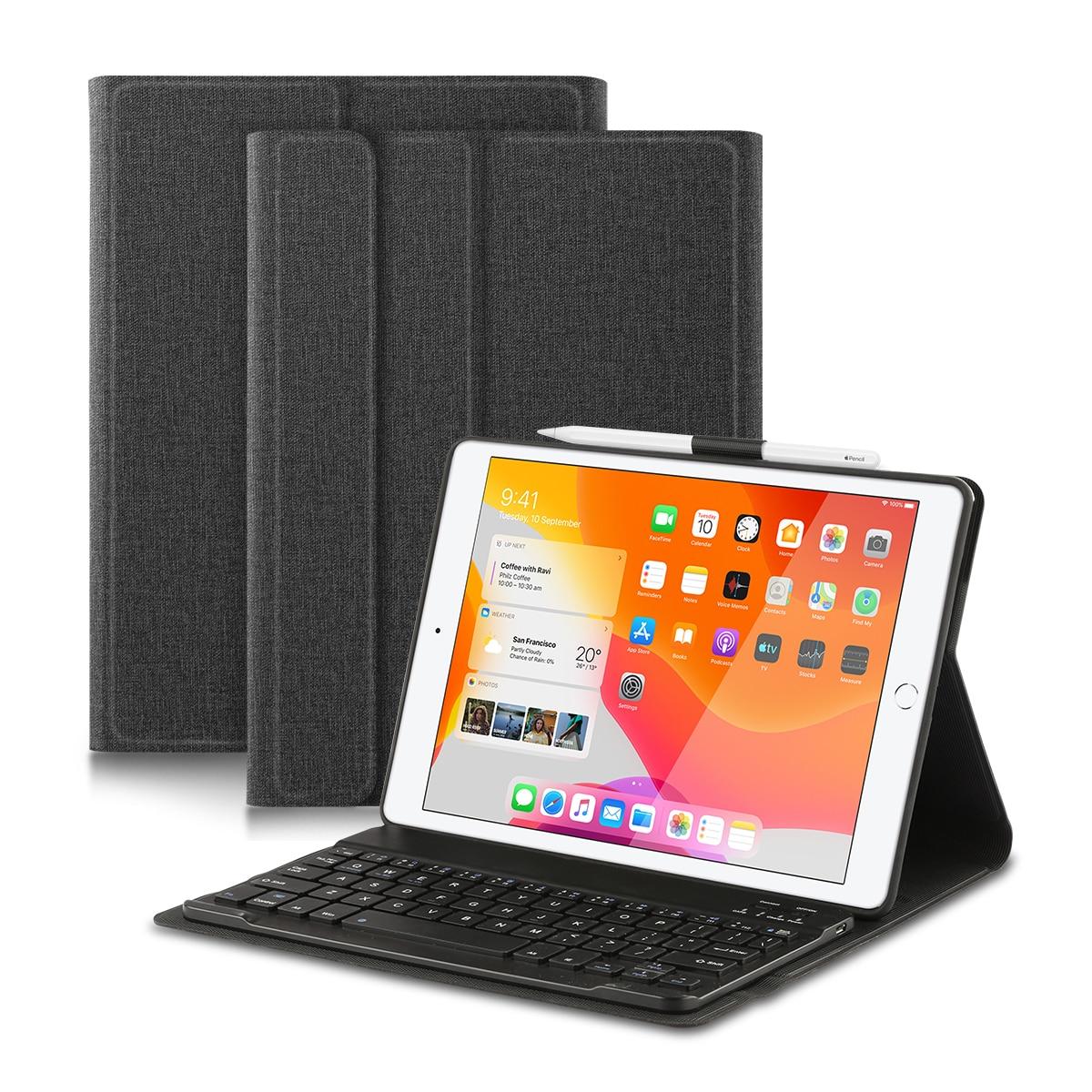 """Funda de teclado Bluetooth para iPad 10,2 """"7th Gen iPad aire 3rd Gen iPad Pro 10,5"""""""