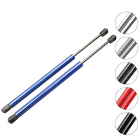 2pcs Car Hood Bonnet Gas struts Charged Auto Lift Supports for Jeep Liberty KJ 2002 2003 2007 438 mm Front Left & Right