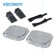 Car-Light Alignment-System Veconor-Wheel Radius-Plates with Scale 5-Ton Load-Capacity